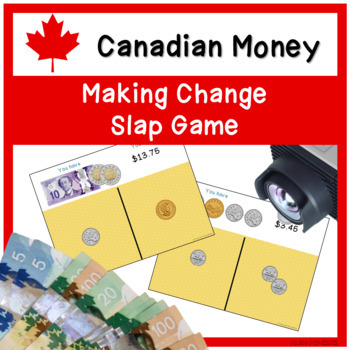 CANADIAN MONEY - Making Change Slap Game - Change it Up!