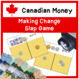 CANADIAN MONEY - Making Change Slap Game - Change it Up!
