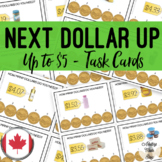 CANADIAN Next Dollar Up {UP TO $5} Task Cards