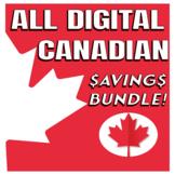 CANADIAN THEMED ALL DIGITAL ACTIVITIES SAVINGS BUNDLE!