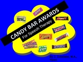 SPEECH THERAPY CANDY BAR AWARDS- End of Year Activity