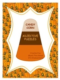 CANDY CORN ADJECTIVES CENTER
