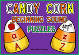 HALLOWEEN ACTIVITIES KINDERGARTEN (CANDY CORN BEGINNING SOUNDS CENTER)