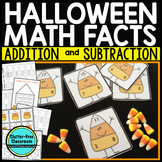 Addition Flash Cards - Subtraction Flash Cards - Fact Fami