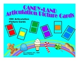 SPEECH THERAPY CANDY LAND /CH/ Articulation Picture Cards