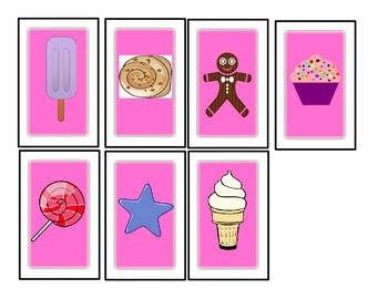 SPEECH THERAPY CANDY LAND /G/ Articulation Picture Cards