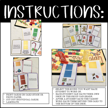 CANDY LAND, GAME COMPANION, BUNDLE - ARTICULATION & LANGUAGE (SPEECH THERAPY)
