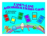 SPEECH THERAPY CANDY LAND /K/ Articulation Picture Cards