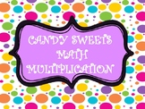 CANDY  SWEETS MATH MULTIPLICATION