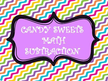 CANDY SWEETS MATH SUBTRACTION