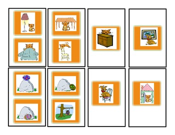 SPEECH THERAPY CANDY LAND PICTURE CARDS for PREPOSITIONAL CONCEPTS PRACTICE