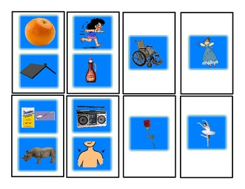 SPEECH THERAPY CANDY LAND /R/ Articulation Picture Cards