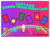 SPEECH THERAPY CANDY LAND PICTURE CARDS for IRREGULAR PLURAL NOUNS