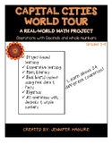 CAPITAL CITIES WORLD TOUR - Real-World Math Project (Decimals & Whole Numbers)