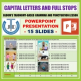 CAPITALIZATION AND PERIODS LESSON PRESENTATION