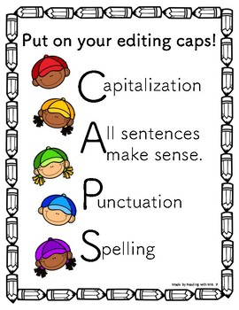 CAPS Editing Poster