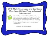 Math Strategy Board: First Grade Common Core