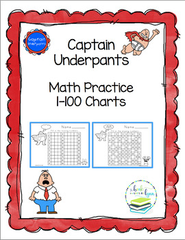 CAPTAIN UNDERPANTS  11 MATH TEMPLATES
