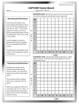 Word Game - Vocabulary Distance Learning Homeschool Ready