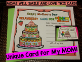 Mother's Day Card Activities - Pre-k - 3rd Grade (in the l
