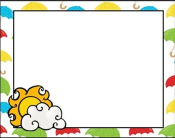 EDITABLE Spring Card Templates