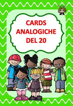CARDS ANALOGICHE DEL 20
