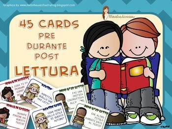 CARDS pre-durante-dopo LETTURA