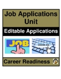 CAREER- COMPLETING JOB APPLICATIONS- SAMPLE APPLICATIONS- CAREER READINESS