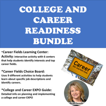 4db1a0e67de College and Career Readiness Bundle by The DIY Counselor Carla