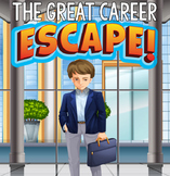 CAREER EXPLORATION Escape Room (Activities, Trivia & Puzzle Games for Students)