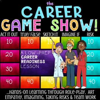 CAREER Interest & Job Exploration School Counseling Lesson: Career Cluster Game!