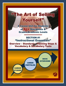 """CAREERS & JOB SKILLS - """"Art of Selling Yourself"""" Sect. 1 - Instructional Tools"""