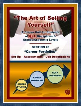"CAREERS & JOB SKILLS - ""Art of Selling Yourself"" Sect. 3 - Career Portfolios # 1"