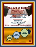 "CAREERS & JOB SKILLS - ""Art of Selling Yourself"" Sect. 3 - Career Portfolios # 1"
