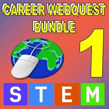 SCIENCE CAREER WEBQUEST BUNDLE 1 (20 Career Internet Assignments)