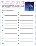 CAREERS:  First Day Activity Worksheets/ Games