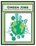 Career Exploration, GREEN JOBS, careers,
