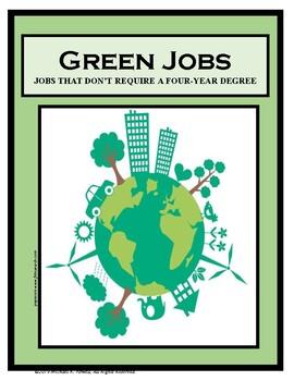 Employment, Career Readiness, GREEN JOBS, Careers, Career Exploration