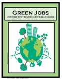 Employment, Career Readiness, , GREEN JOBS, Careers, Caree