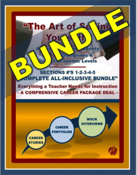 """CAREERS & JOB SKILLS (BUNDLE) – """"The Art of Selling Yourself"""" –  """"All Sections"""