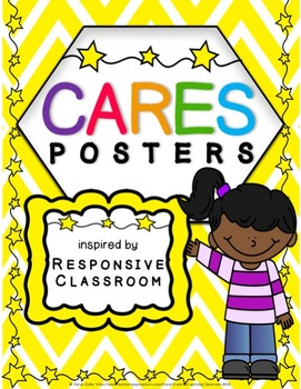 CARES Posters Inspired by Responsive Classroom