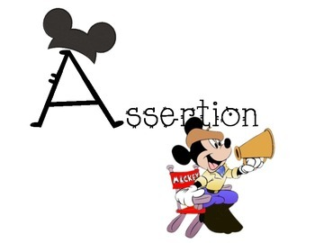 CARES signs- Mickey Mouse