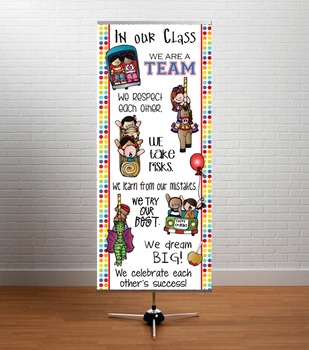 CARNIVAL - Classroom Decor: LARGE BANNER, In Our Class