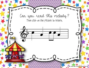 CARNIVAL Melodies! Interactive Melodic Practice Game - SO-MI