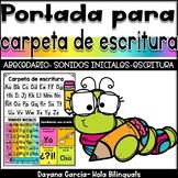 CARPETA DE ESCRITURA- PORTADA