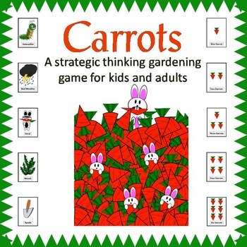 CARROTS: a strategic thinking maths gardening game in time