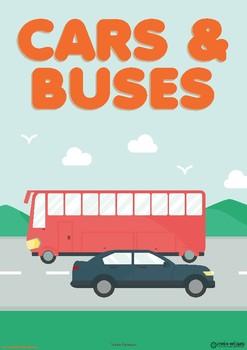 CARS & BUSES UNIT - TODDLER CURRICULUM