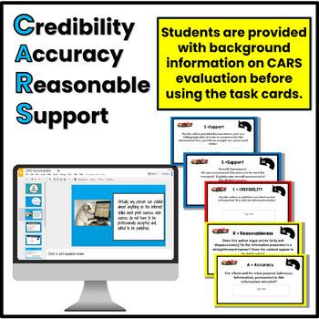 CARS:  Evaluating Source Credibility Digital Task Card Set