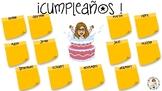 CARTEL: Cumpleaños (castellano/catalán)