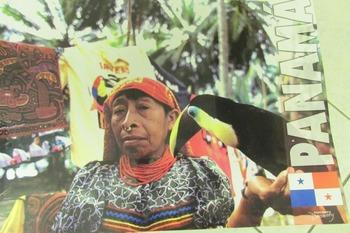 CARTEL (poster) Kuna Indian - PANAMA